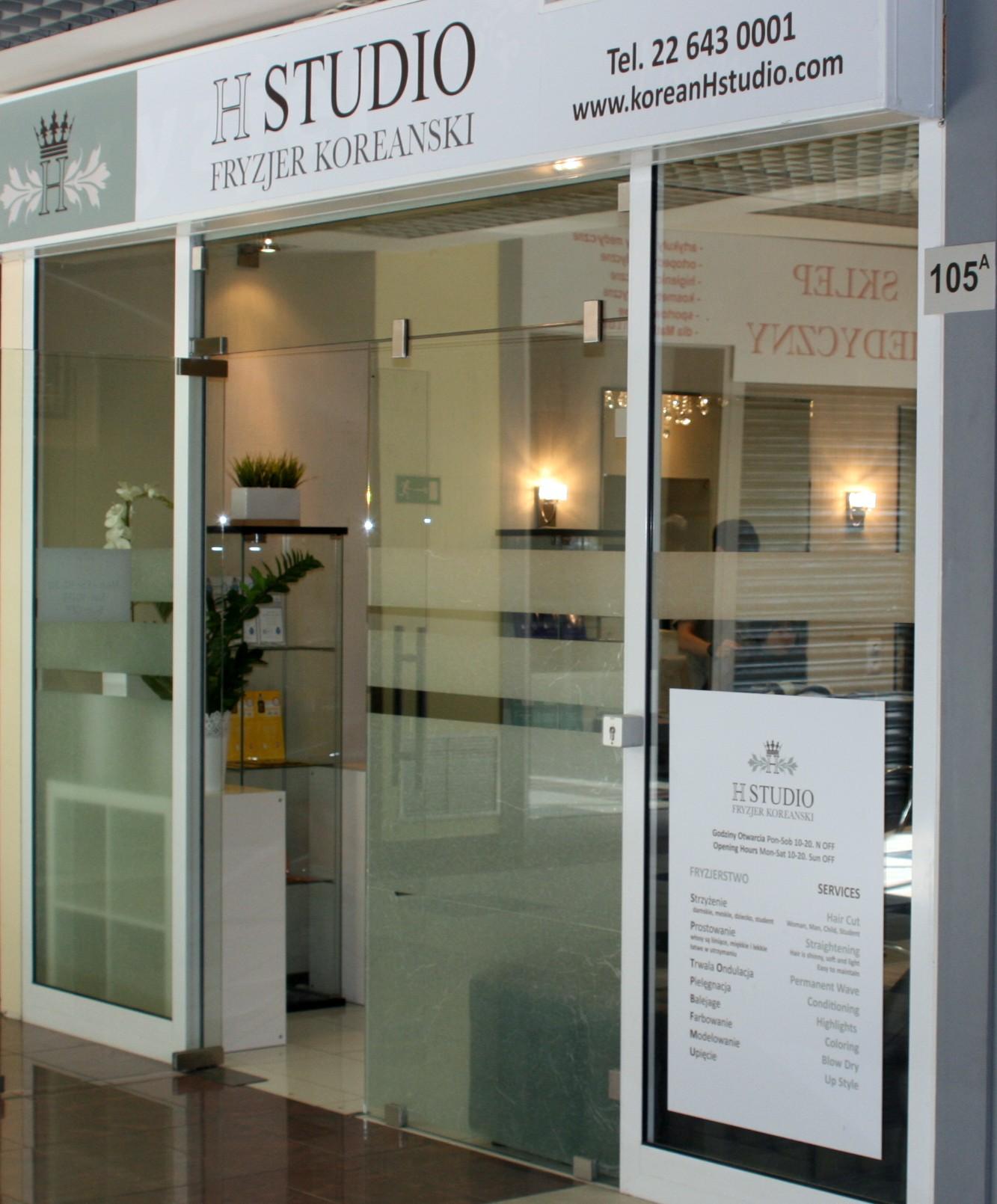 H Studio Galeria Ursynów Fryzjer Koreański Ursynówazpl Firma