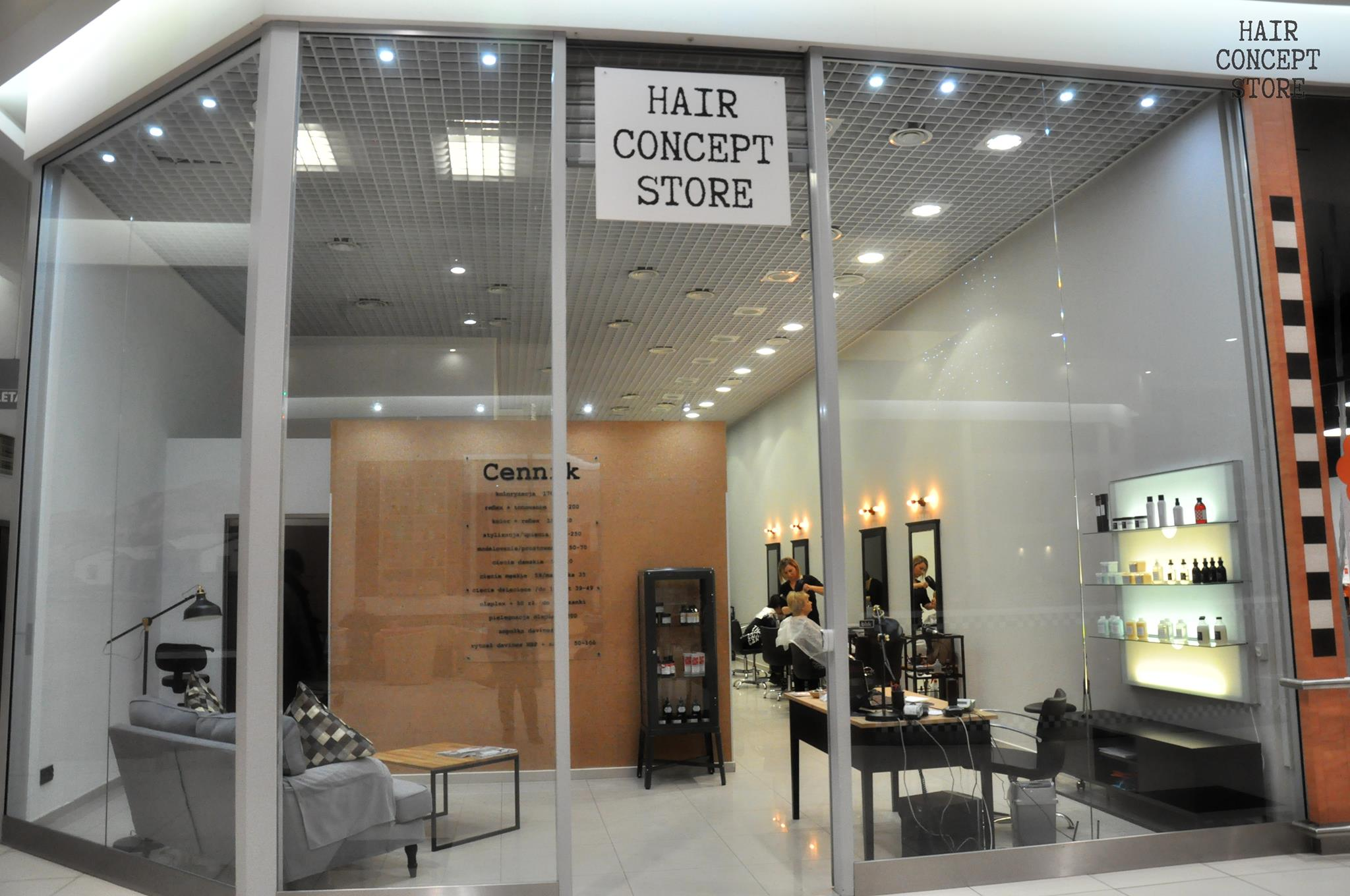 Hair Concept Store Ken Center Salon Fryzjerski Ursynówazpl Firma